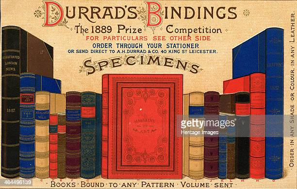 Durrad?s Book Bindings, 1889.