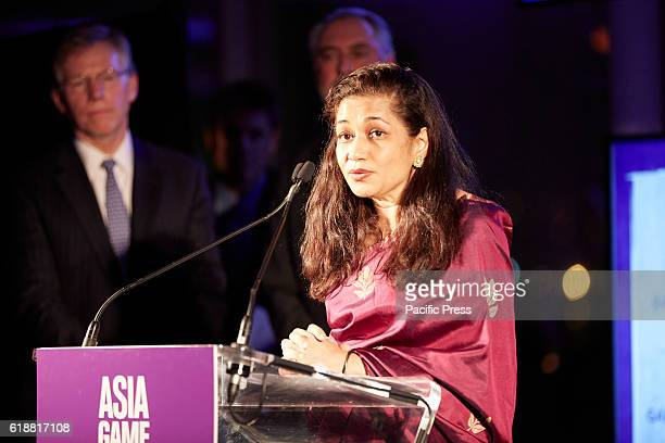 Durreen Shahnaz for 'Socialimpact' investing that has changed the game for millions Awarded during the 2016 Asia Game Changers held at the United...