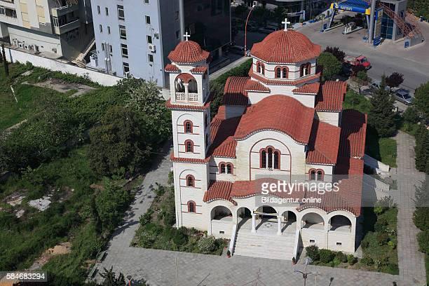 Durres second largest city of Albania cathedrale Saint Paul and Saint Astius orthodox Kisha e apostull Paulis dhe e shen Astit