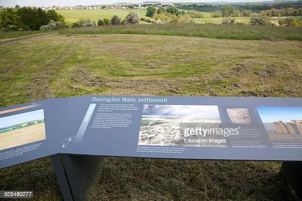 Durrington Walls Neolithic settlement site Amesbury Wiltshire England