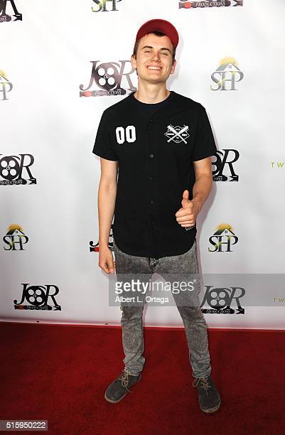 Durte Dom arrives for the Premiere Of JR Productions' Halloweed held at TCL Chinese 6 Theatres on March 15 2016 in Hollywood California