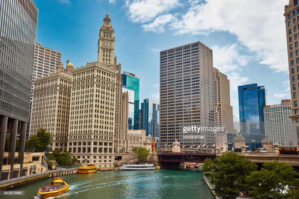 DuSable bridge, Chicago : Stock Photo