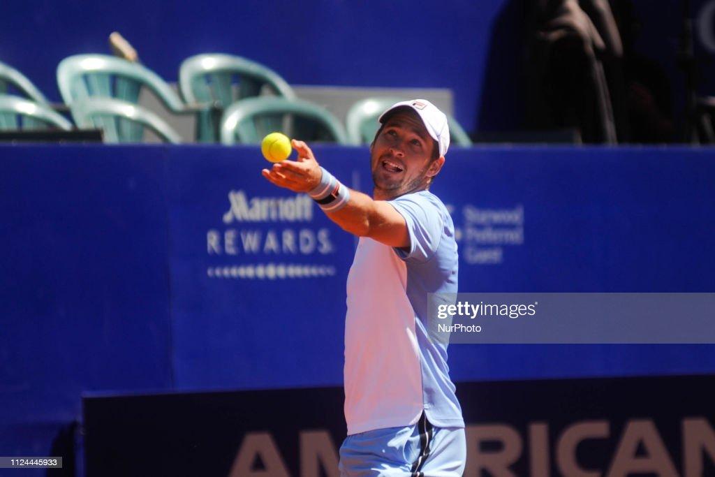 Leonardo Mayer v Dusan Lajovic - Argentina Open ATP : News Photo