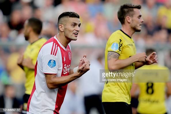 Dusan Tadic Of Ajax During The Dutch Eredivisie Match