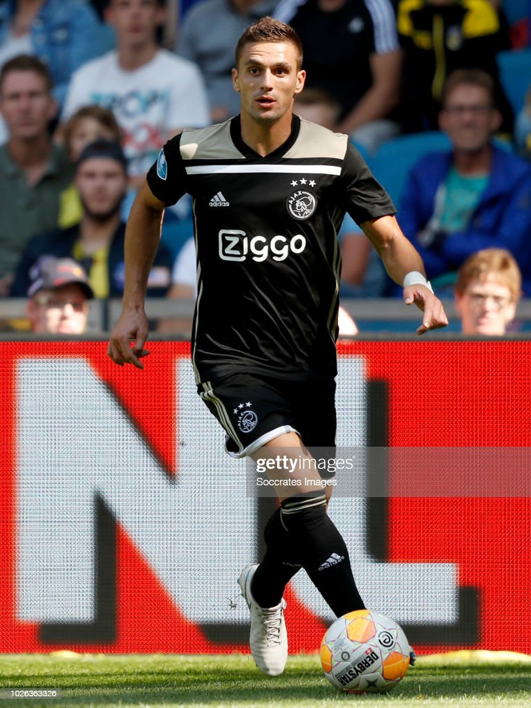 Dusan Tadic of Ajax during the Dutch Eredivisie match between Vitesse v Ajax at the GelreDome on September 2, 2018 in Arnhem Netherlands