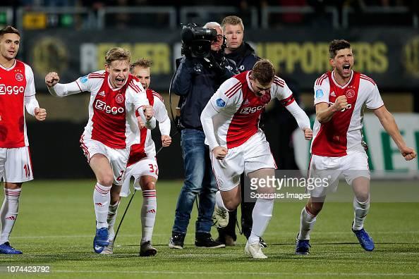Dusan Tadic Of Ajax, Frenkie De Jong Of Ajax, Vaclav Cerny