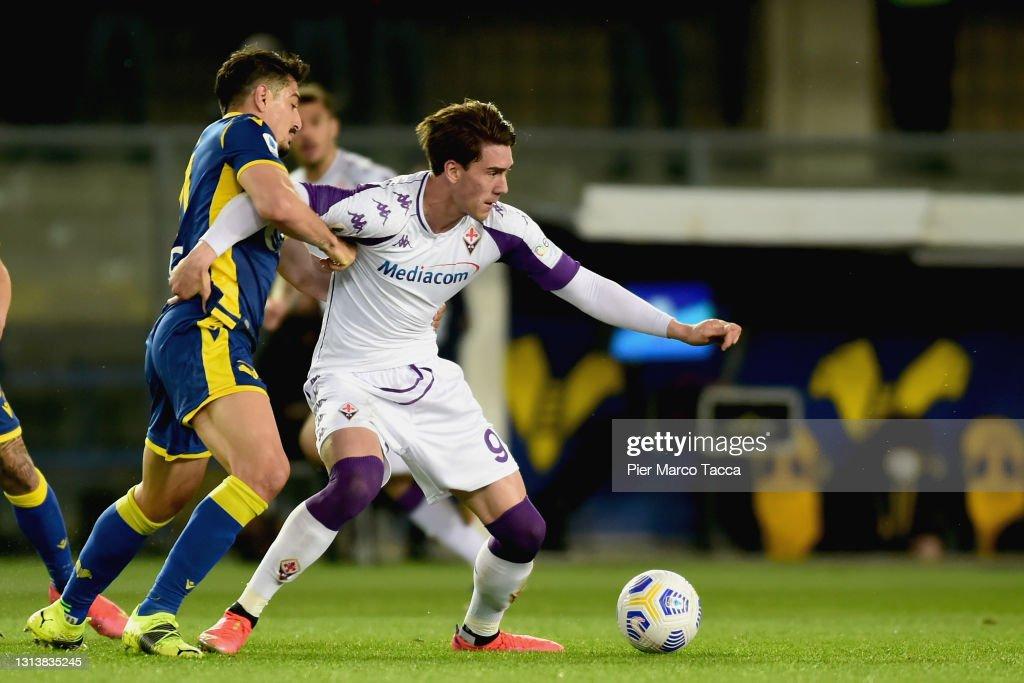 Hellas Verona FC  v ACF Fiorentina - Serie A : News Photo