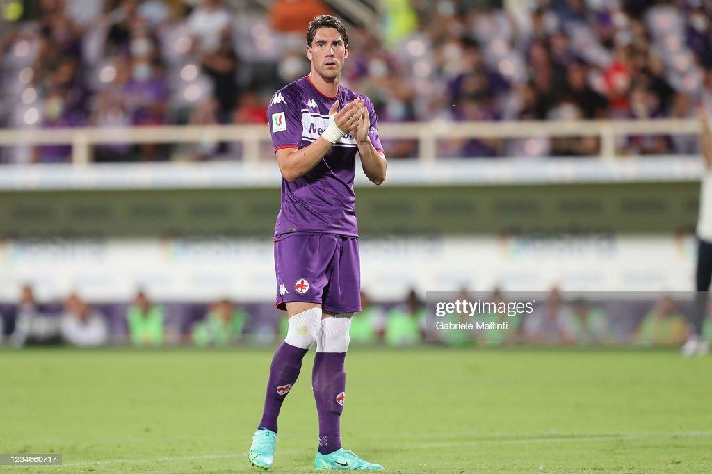 Fiorentina v Cosenza - Coppa Italua : News Photo