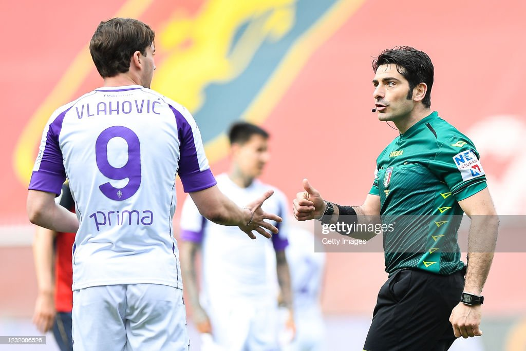 Genoa CFC vs ACF Fiorentina - Serie A : News Photo