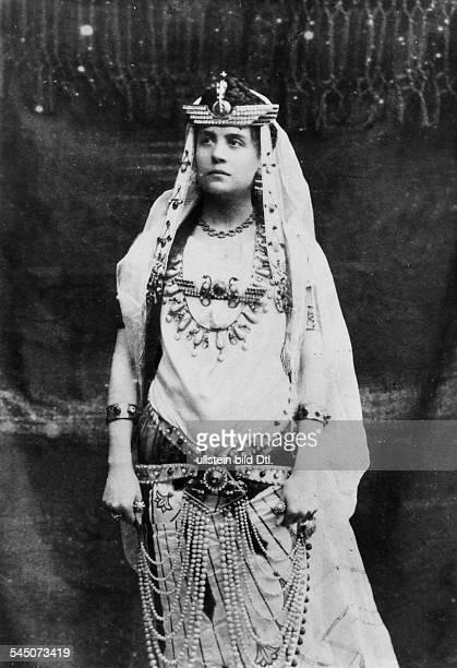 Duse Eleonora *03101858Schauspielerin I als 'Cleopatra' undatiert