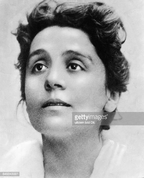 Duse Eleonora *03101858Schauspielerin Italien Portraitstudie aus der 'Kameliendame' von Alexandre Dumas undatiert
