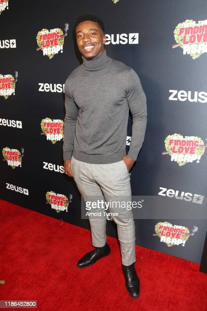 Dushaun Thompson attends Tokyo Toni's Finding Love ASAP Los Angeles premiere at AMC Theaters Universal City Walk on November 08 2019 in Universal...