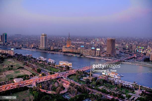 Dusk in Cairo (HDR)