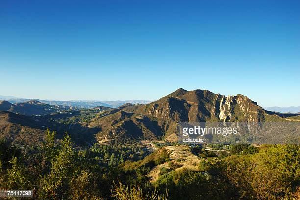 Dusk in the Santa Monica Mountains