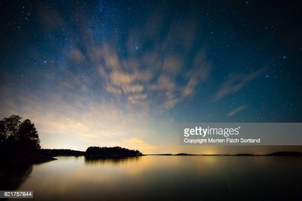 Dusk in the Swedish archipelago