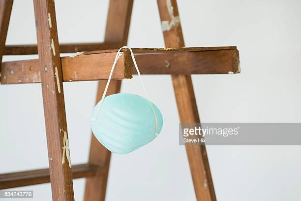 Dusk Mask Hanging from Ladder