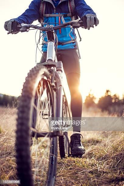 Dusk Mountain Bike Trail Ride