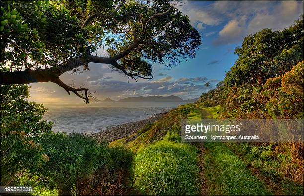Dusk near Lillte Island, Lord Howe Island