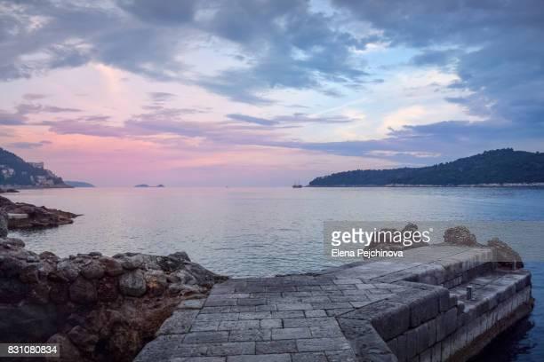 Dusk over the Adriatic