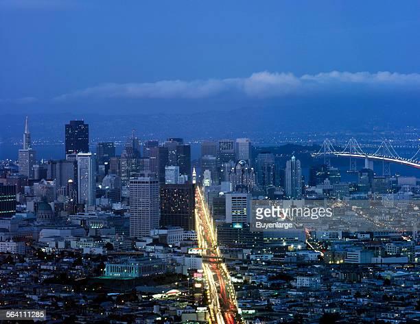 Dusk San Francisco California