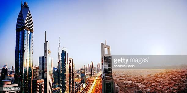 Dusk to Dawn - Dubai City