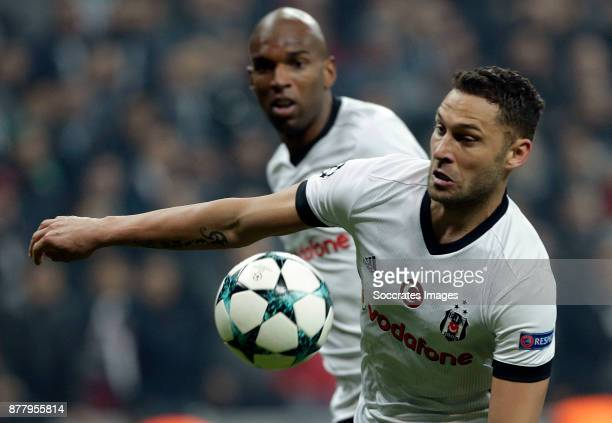 Dusko Tosic of Besiktas during the UEFA Champions League match between Besiktas v FC Porto at the Vodafone Park on November 21, 2017 in Istanbul...