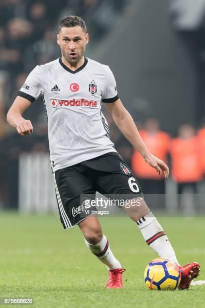 Dusko Tosic of Besiktas JK during the Turkish Spor Toto Super Lig football match between Besiktas JK and Teleset Mobilya Akhisarspor on November 17...