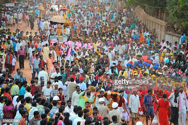 dussehra festival in jagdalpur - dussehra - fotografias e filmes do acervo