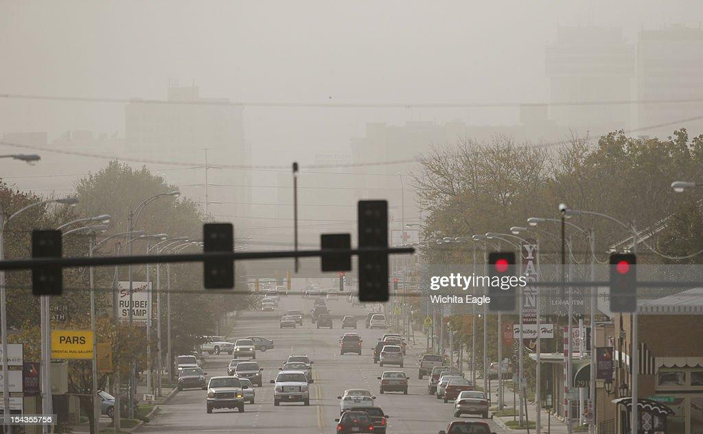 Dust Storm in Kanasa : News Photo