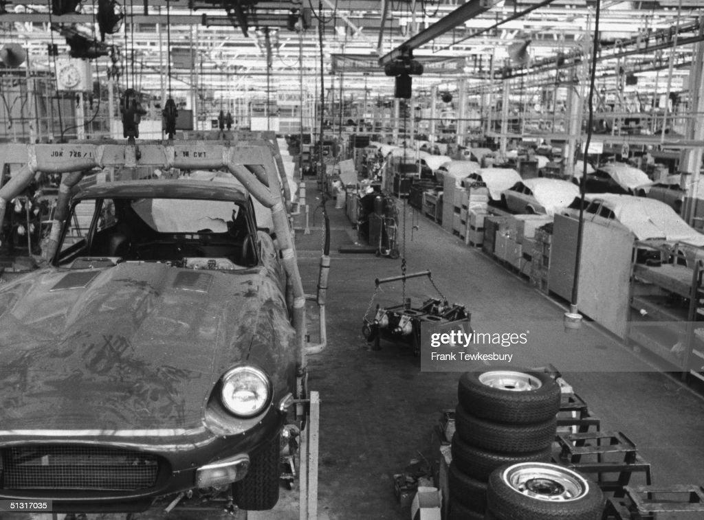 Jaguar Factory : News Photo