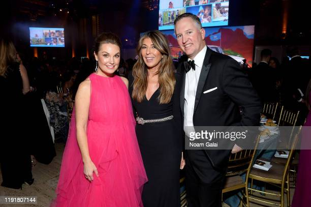 Dustee Jenkins and Nina García attend the 15th Annual UNICEF Snowflake Ball 2019 at Cipriani Wall Street on December 03 2019 in New York City
