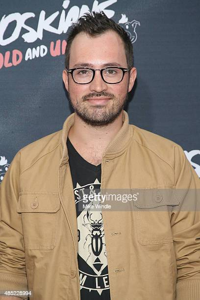 Dustin Belt attends the premiere of Awesomeness TV's Janoskians Untold and Untrue at Regency Bruin Theatre on August 25 2015 in Los Angeles California