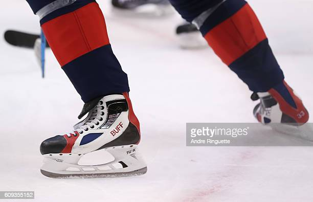 Dustin Byfuglien of Team USA skates against Team Canada during the World Cup of Hockey 2016 at Air Canada Centre on September 20 2016 in Toronto...