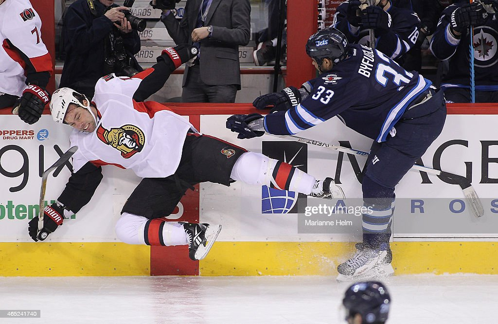 Ottawa Senators v Winnipeg Jets