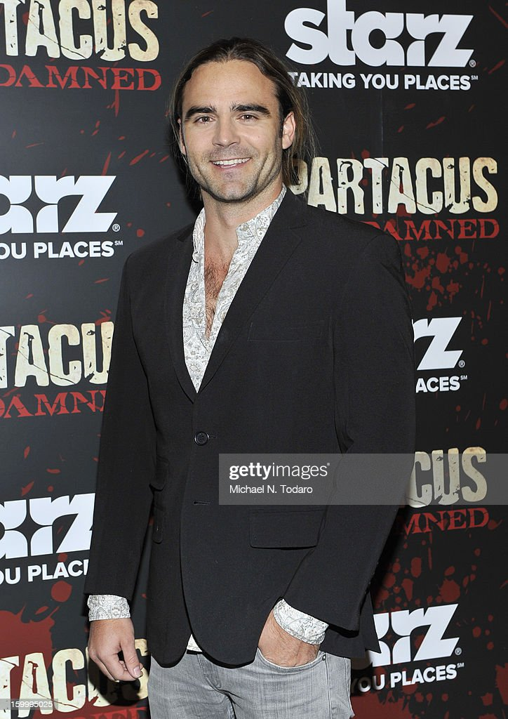 Dustin Clare attends the 'Spartacus: War Of The Damned' series finale premiere at The Museum of Modern Art on January 24, 2013 in New York City.