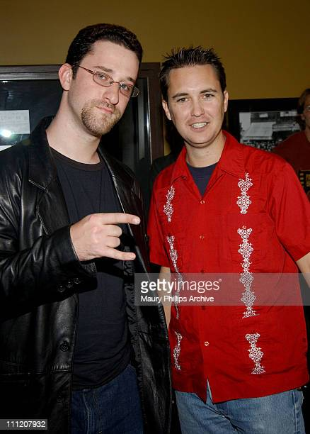 Dustin Diamond and Wil Wheaton during 'Uncle Davvers Really Scary Movie Show' World Premiere at Silent Movie Theater in Hollywood California United...