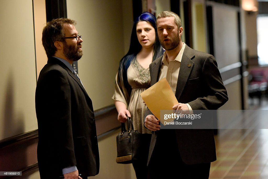 Dustin Diamond Arraignment & Amanda Schutz Initial Appearance : News Photo