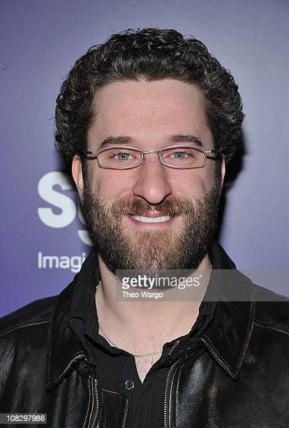 Dustin Diamond attends the 'Mega Python vs Gatoroid' premiere at the Ziegfeld Theatre on January 24 2011 in New York City