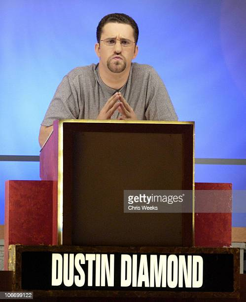 Dustin Diamond during David Spade and CoStars from Paramount Pictures' 'Dickie Roberts Former Child Star' Tape Hollywood Squares at CBS Television...