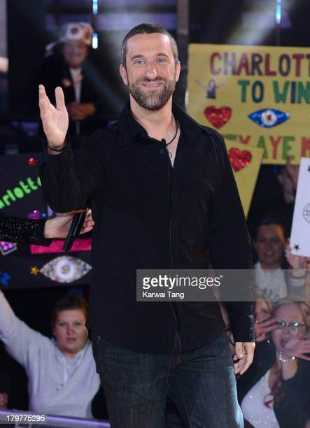 Dustin Diamond gets evicted from the Celebrity Big Brother house at Elstree Studios on September 6 2013 in Borehamwood England