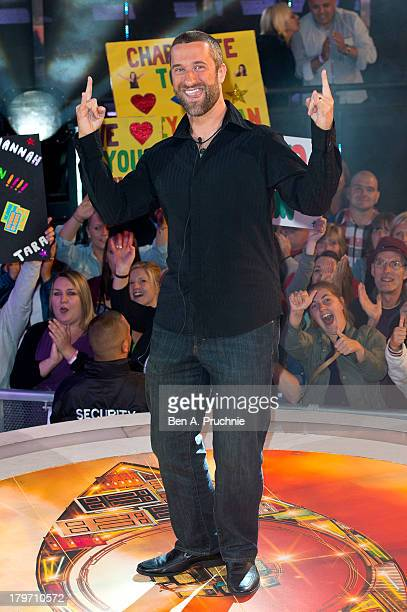 Dustin Diamond is evicted from the Celebrity Big Brother house at Elstree Studios on September 6 2013 in Borehamwood England