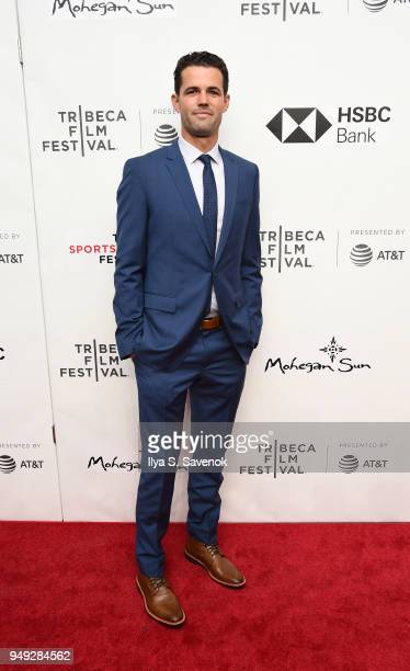 Dustin Dillberg attends 'Bethany Hamilton Unstoppable' during 2018 Tribeca Film Festival at SVA Theatre on April 20 2018 in New York City