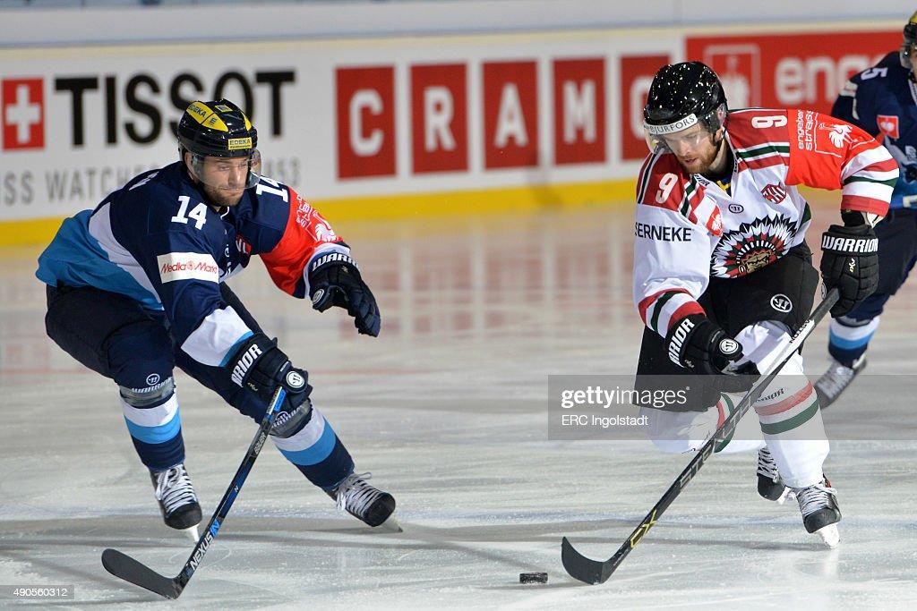 ERC Ingolstadt v Frolunda Gothenburg - Champions Hockey League Round Of 32 : News Photo