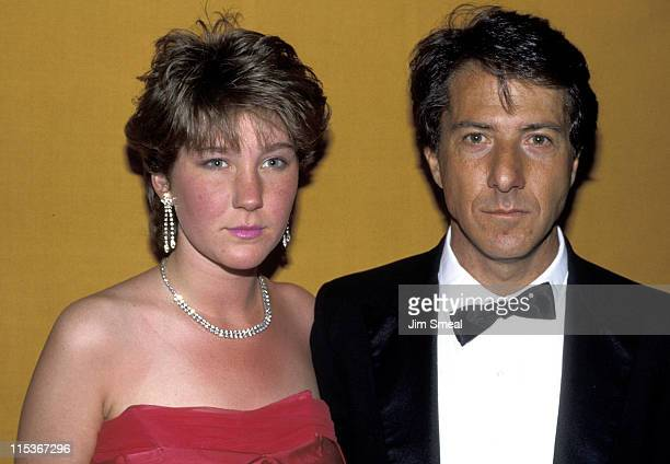 Dustin Hoffman and daughter during 1983 Your Choice Film Awards at Ambassador Hotel in Los Angeles, California, United States.