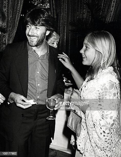 """Dustin Hoffman and daughter Karina during """"Ballet on Broadway"""" at Beacon Theatre in New York City, NY, United States."""