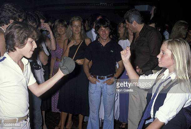 """Dustin Hoffman and daughter Karina during """"The Eyes of Laura Mars"""" New York City Premiere - After Party at Xenon in New York City, New York, United..."""