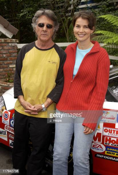 Dustin Hoffman and Julia Ormond at The Target A Time for Heroes Celebrity Carnival Benefitting the Elizabeth Glaser Pediatric AIDS Foundation