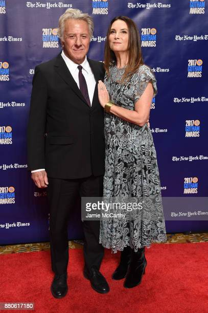 Dustin Hoffman and Lisa Hoffman attend the 2017 IFP Gotham Awards at Cipriani Wall Street on November 27 2017 in New York City