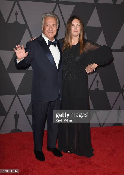 Dustin Hoffman and Lisa Hoffman attend the Academy of Motion Picture Arts and Sciences' 9th Annual Governors Awards at The Ray Dolby Ballroom at...