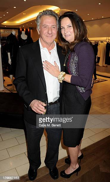 Dustin Hoffman and Lisa Hoffman attend the launch of L'Wren Scott's A/W 2011 collection with a special preview of her upcoming S/S 2012 collection at...